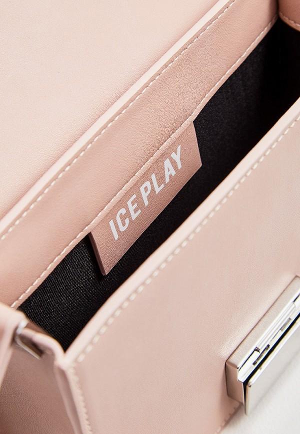 Фото 5 - женскую сумку Ice Play розового цвета