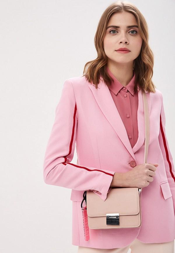 Фото 6 - женскую сумку Ice Play розового цвета