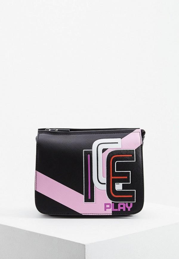 Фото - женскую сумку Ice Play черного цвета