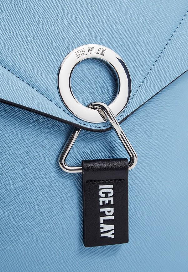 Фото 3 - женский рюкзак Ice Play голубого цвета