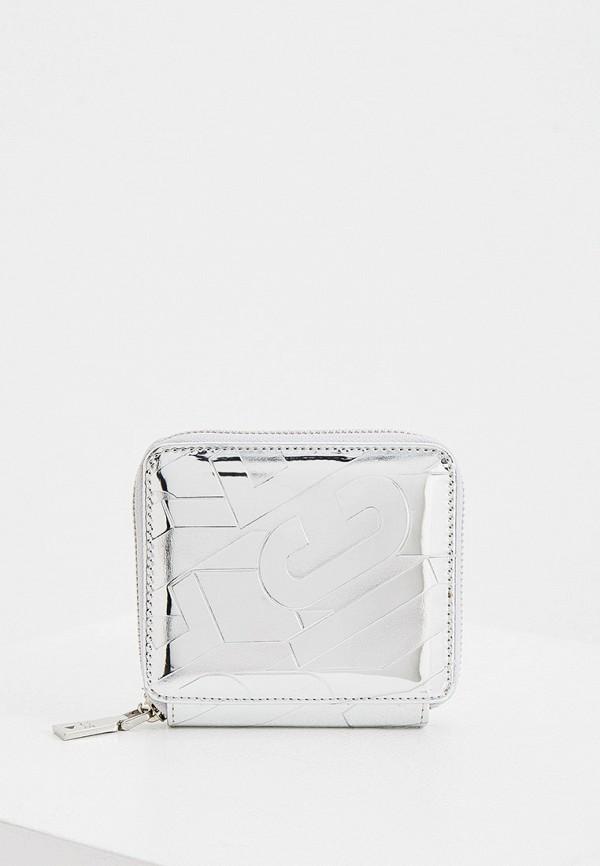 женский кошелёк ice play, серебряный