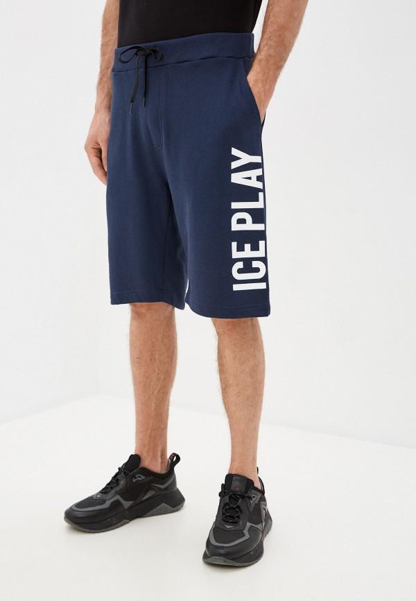 мужские повседневные шорты ice play, синие