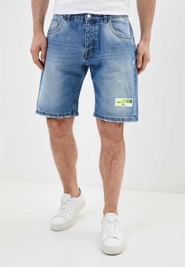 мужские джинсовые шорты ice play, синие
