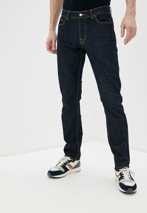 мужские зауженные джинсы ice play, синие