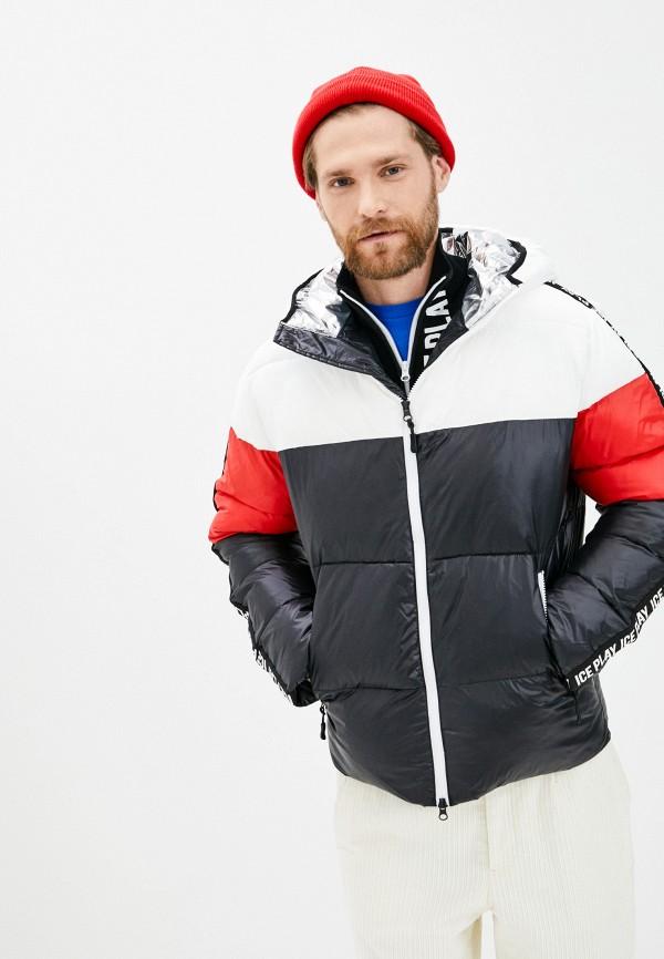 мужская куртка ice play, черная
