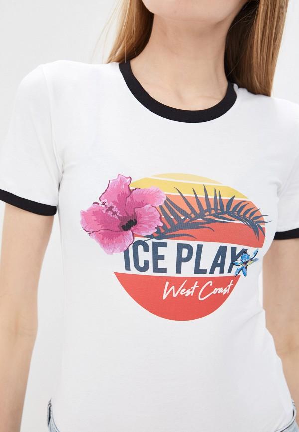 Фото 4 - женские боди Ice Play белого цвета