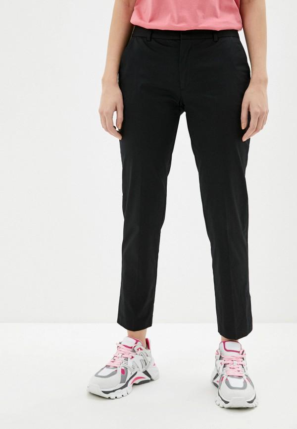 женские повседневные брюки ice play, черные