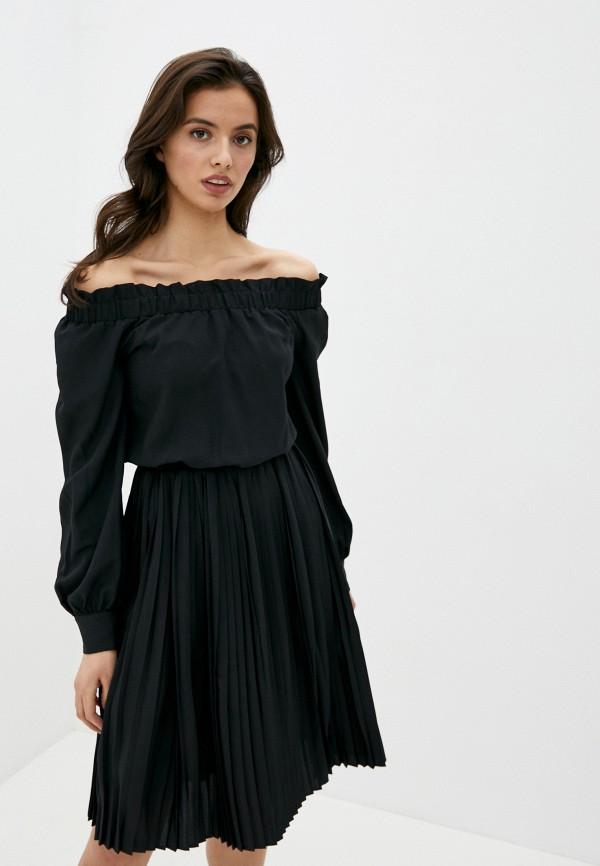 женское платье ice play, черное