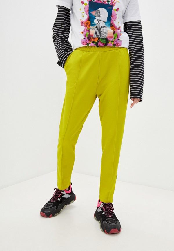 женские спортивные брюки ice play, зеленые
