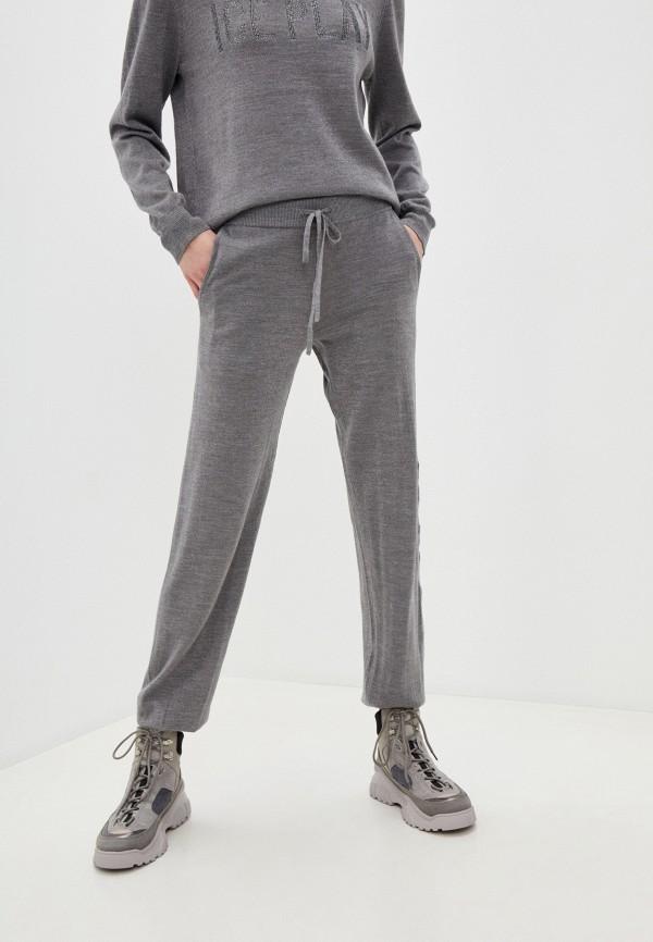 женские спортивные брюки ice play, серые