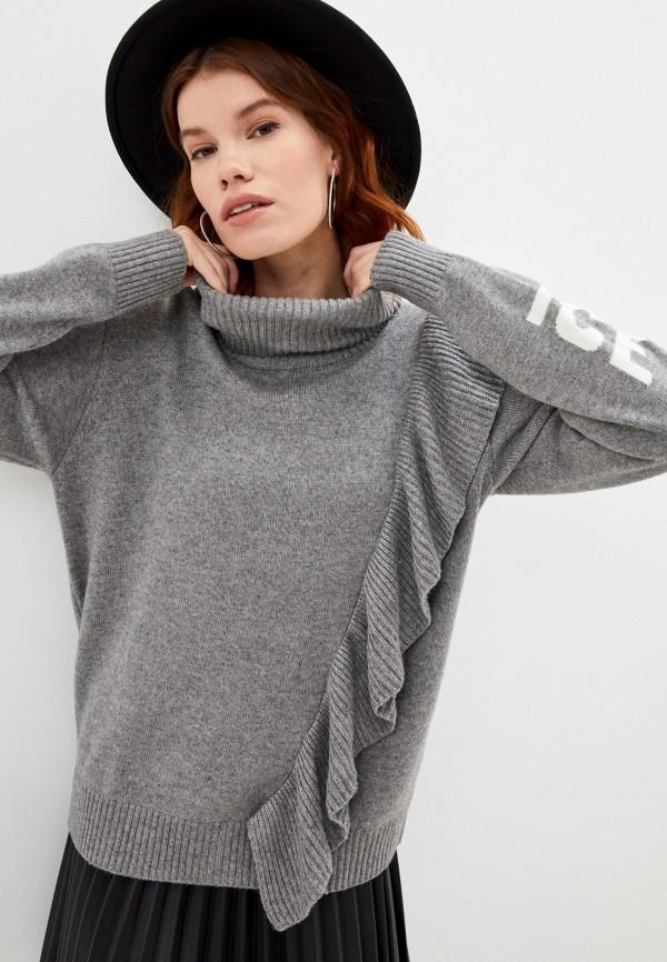 женский свитер ice play, серый