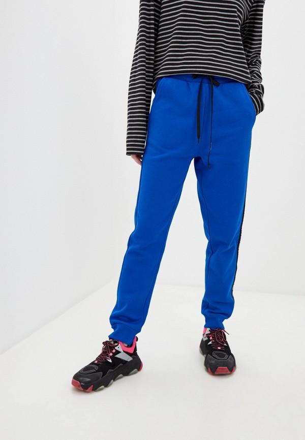 женские спортивные брюки ice play, синие