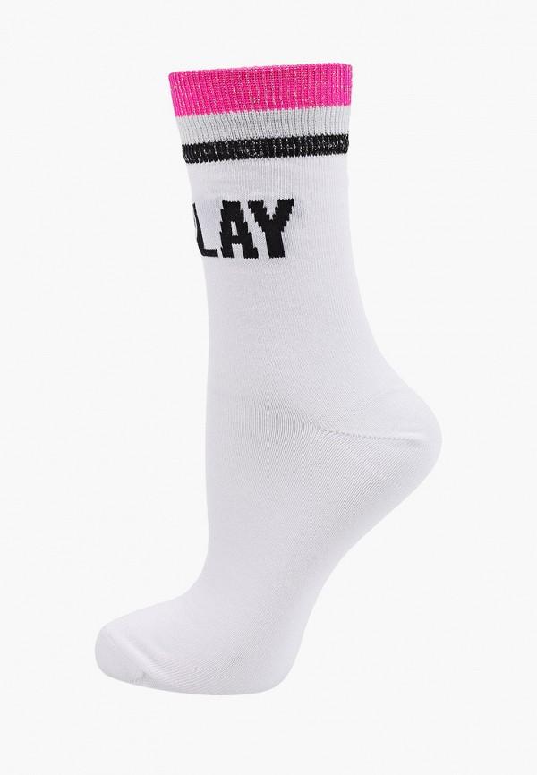 женские носки ice play, белые