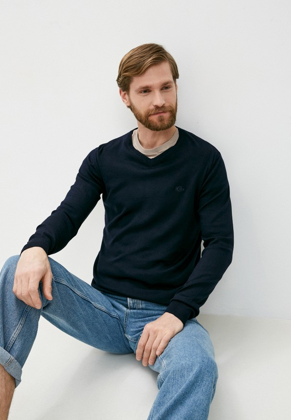 мужской пуловер iclub, синий