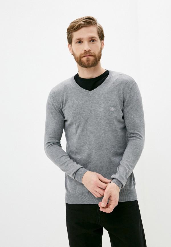 мужской пуловер iclub, серый