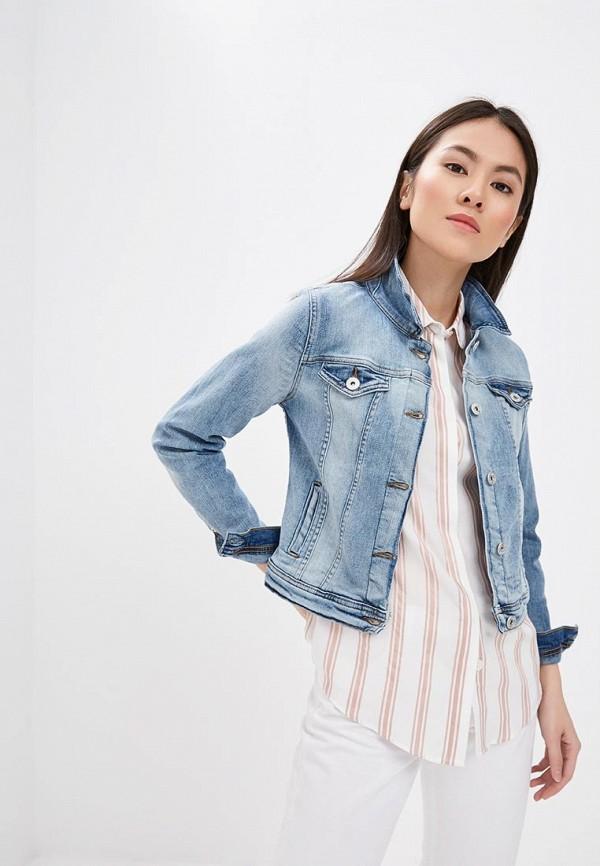 Куртка джинсовая Ichi Ichi IC314EWEELH2 блуза ichi ichi ic314eweeli3