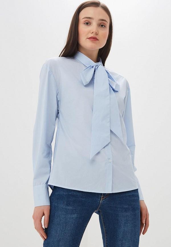 женская блузка ichi, голубая