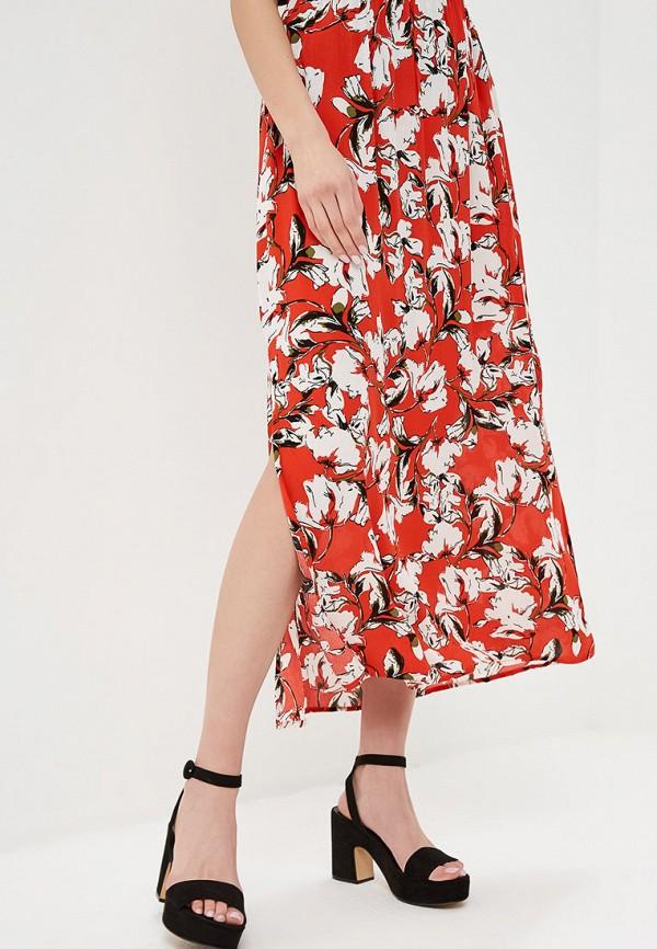 женская юбка ichi, красная