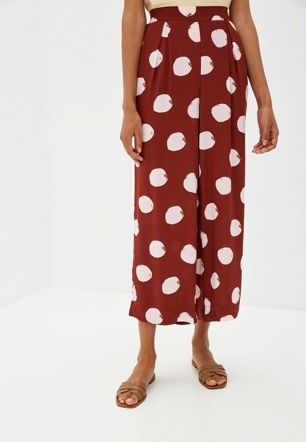 женские брюки ichi, коричневые