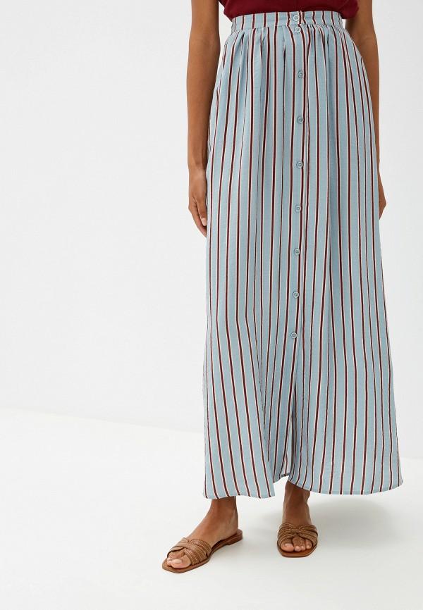 женская юбка ichi, бирюзовая