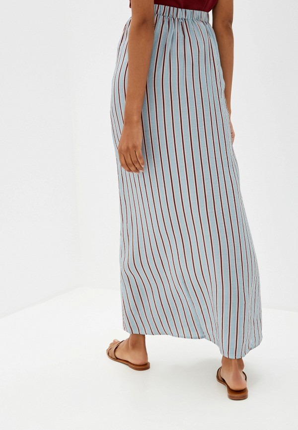 Фото 3 - женскую юбку Ichi бирюзового цвета