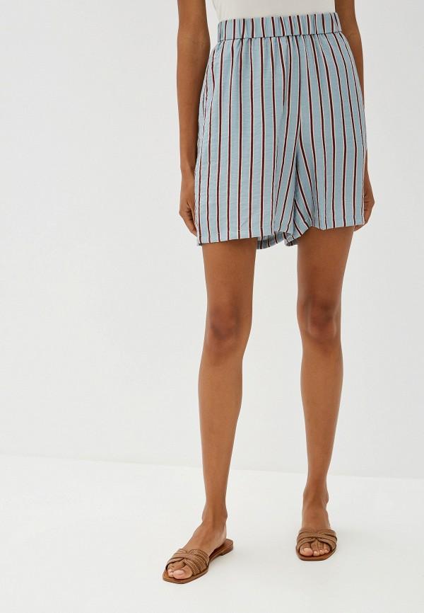 женские повседневные шорты ichi, бирюзовые