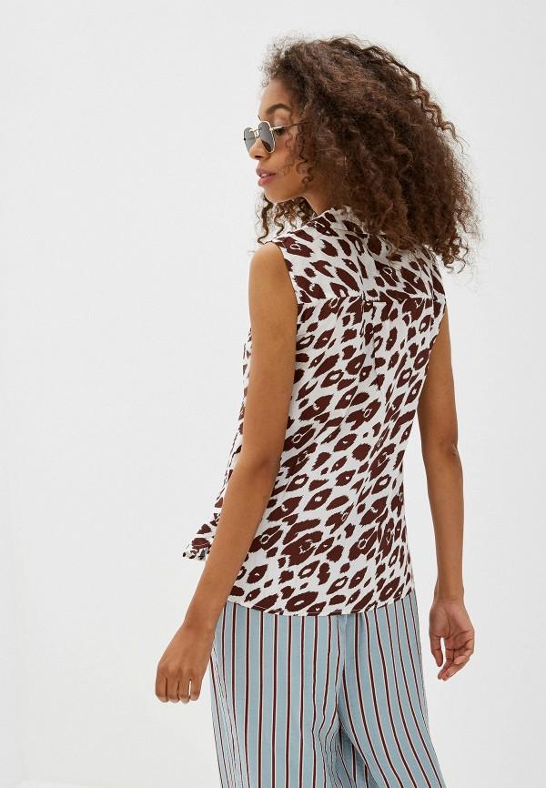 Фото 3 - женскую блузку Ichi белого цвета