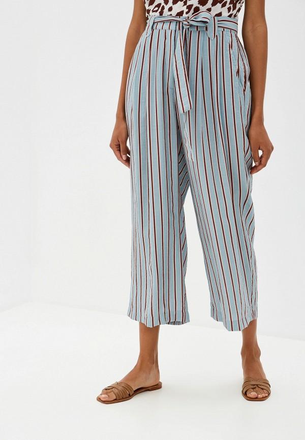 женские повседневные брюки ichi, бирюзовые