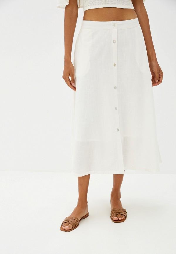 женская юбка ichi, белая