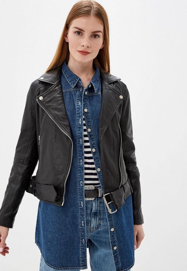 женская куртка ichi, черная