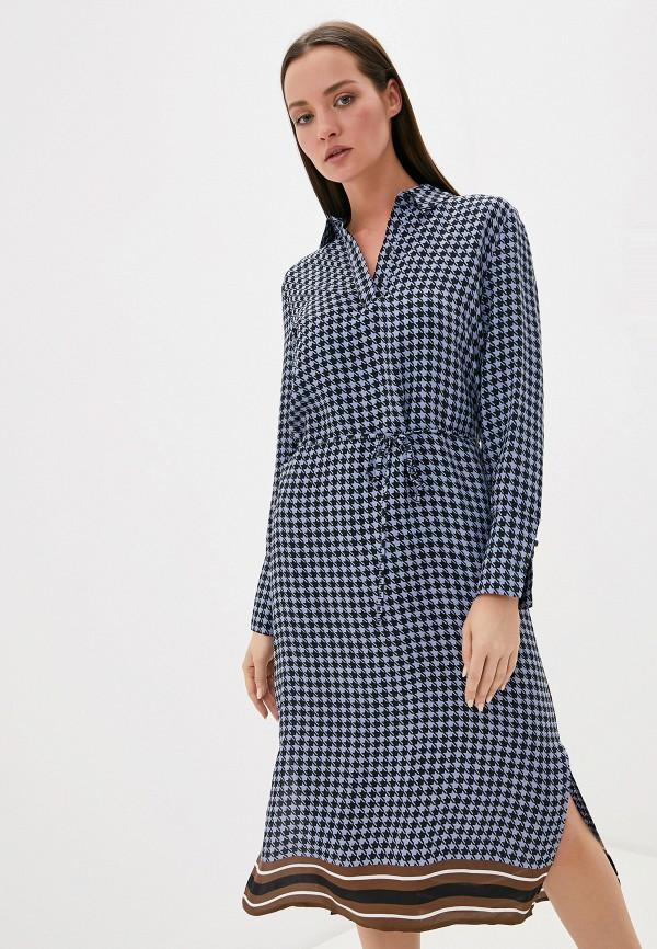 женское повседневные платье ichi, синее