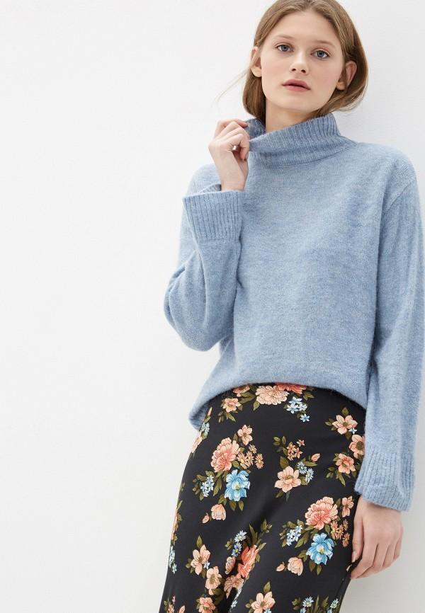 женский свитер ichi, голубой