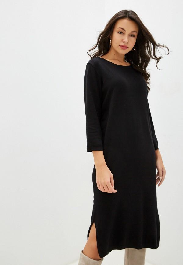 женское повседневные платье ichi, черное
