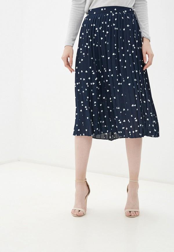 женская юбка ichi, синяя