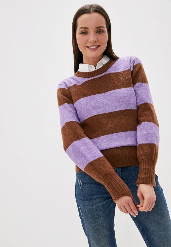 женский джемпер ichi, разноцветный