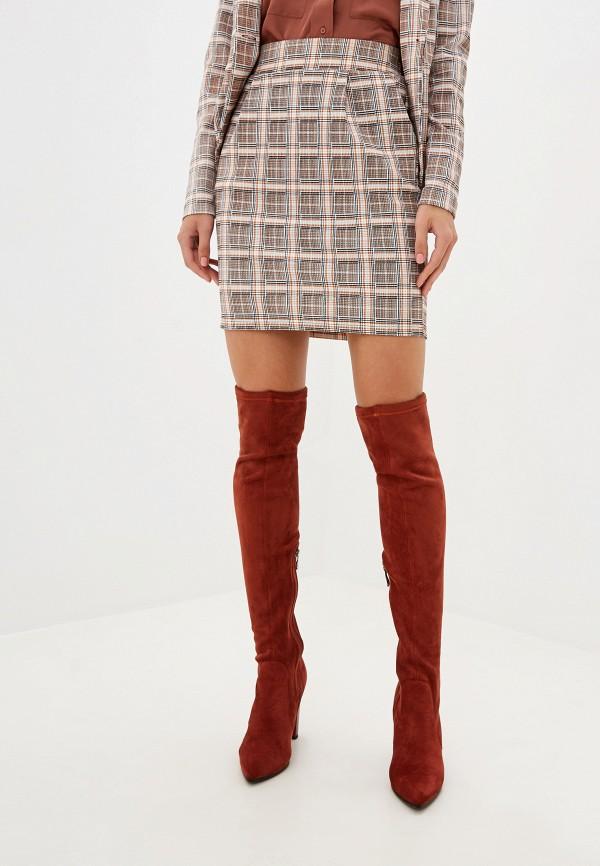 женская прямые юбка ichi, разноцветная
