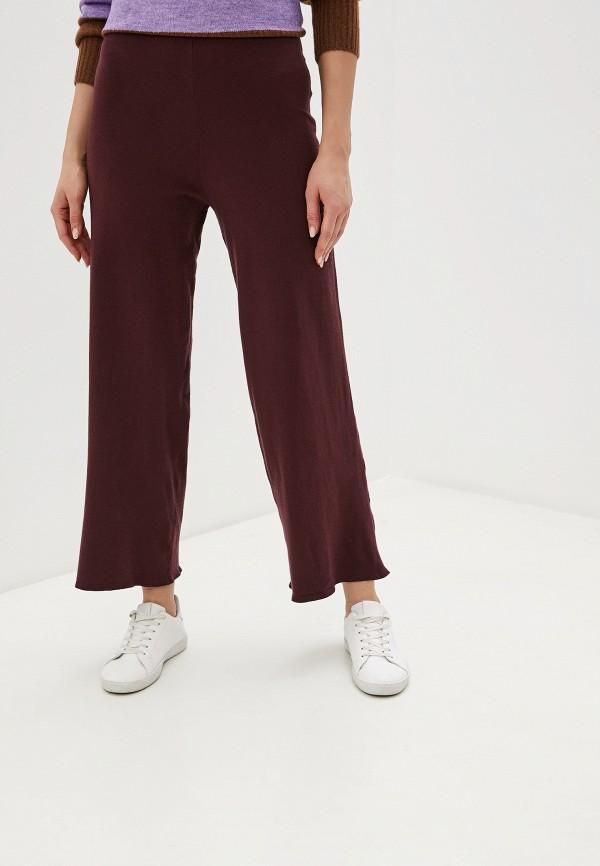 женские повседневные брюки ichi, бордовые
