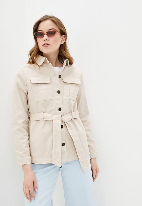 женская куртка ichi, розовая