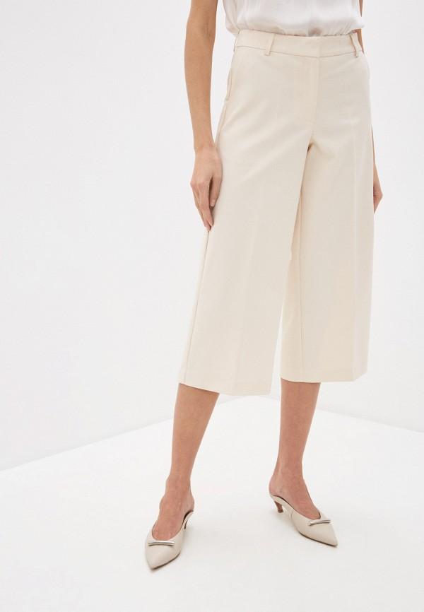 женские брюки ichi, бежевые