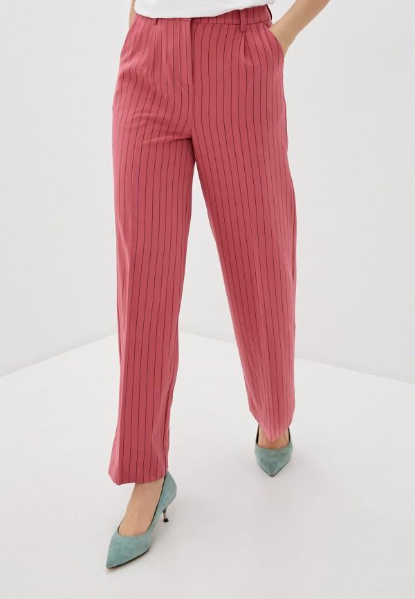 женские повседневные брюки ichi, розовые