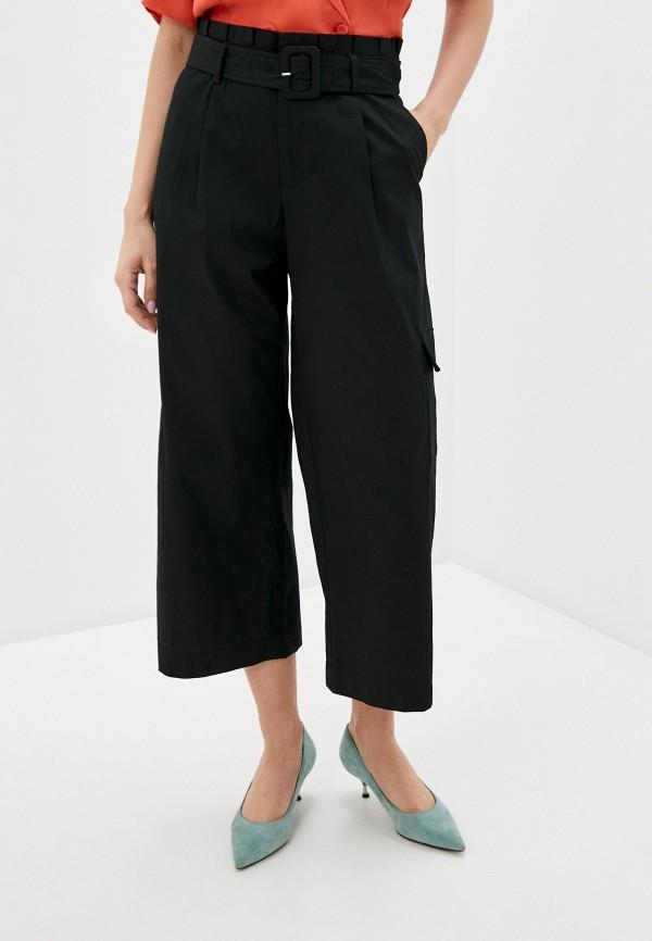 женские брюки ichi, черные