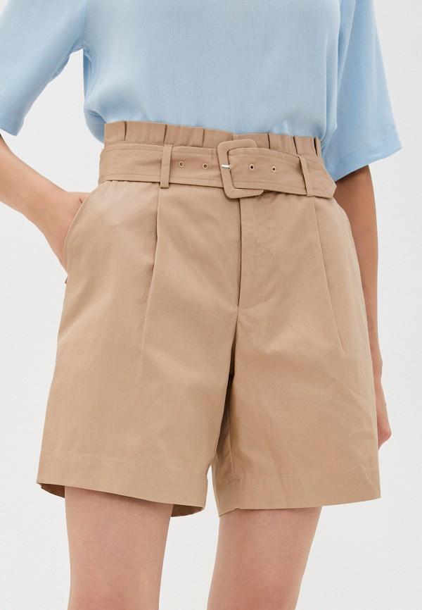 женские повседневные шорты ichi, бежевые