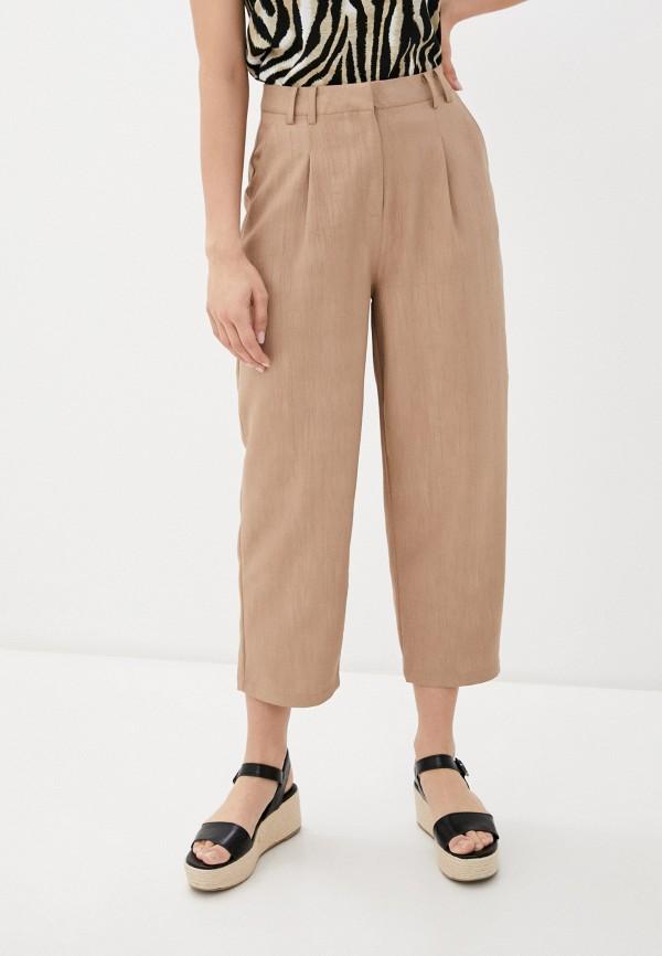 женские повседневные брюки ichi, бежевые