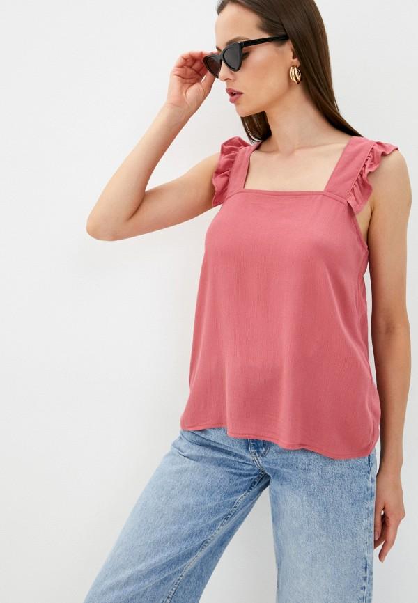 женский топ ichi, розовый
