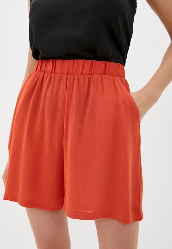 женские повседневные шорты ichi, красные