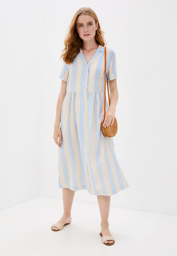 женское платье ichi, разноцветное