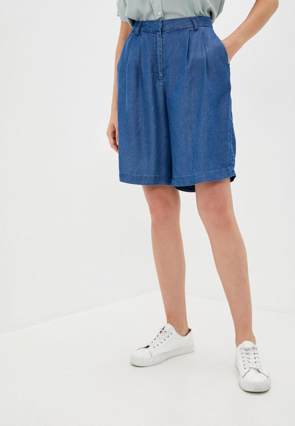 женские джинсовые шорты ichi, синие