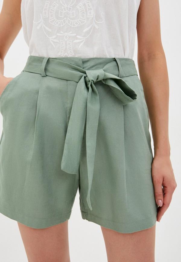 женские повседневные шорты ichi, хаки