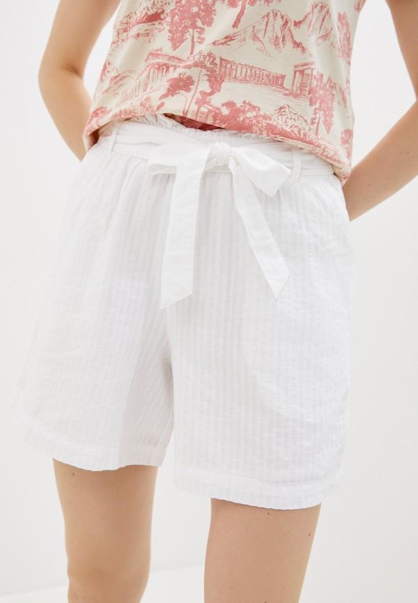 женские повседневные шорты ichi, белые