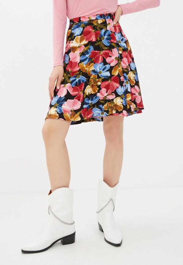 женская юбка ichi, разноцветная